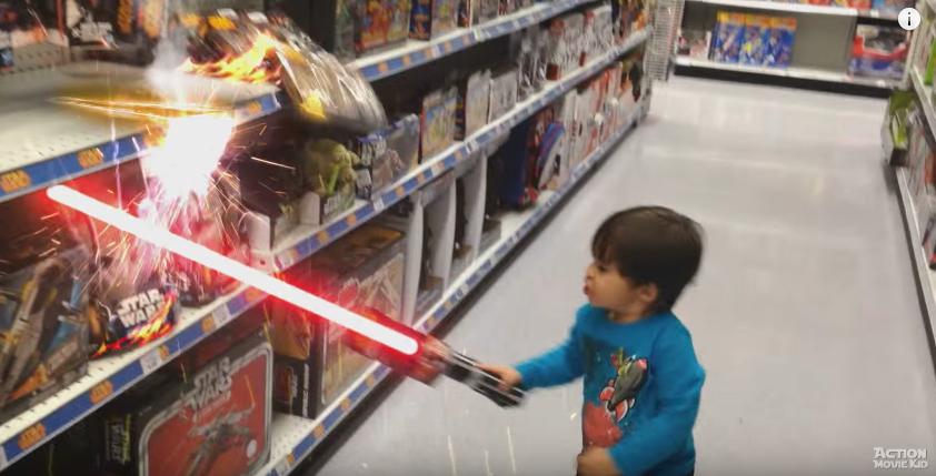 Pai aplica efeitos especiais em vídeos de seus filhos transformando elas em aventuras épicas 2