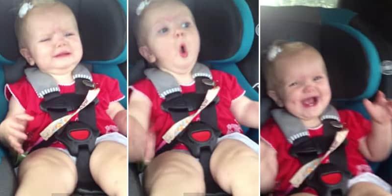 Bebê adorável pára de chorar assim que escuta música da Katy Perry 2