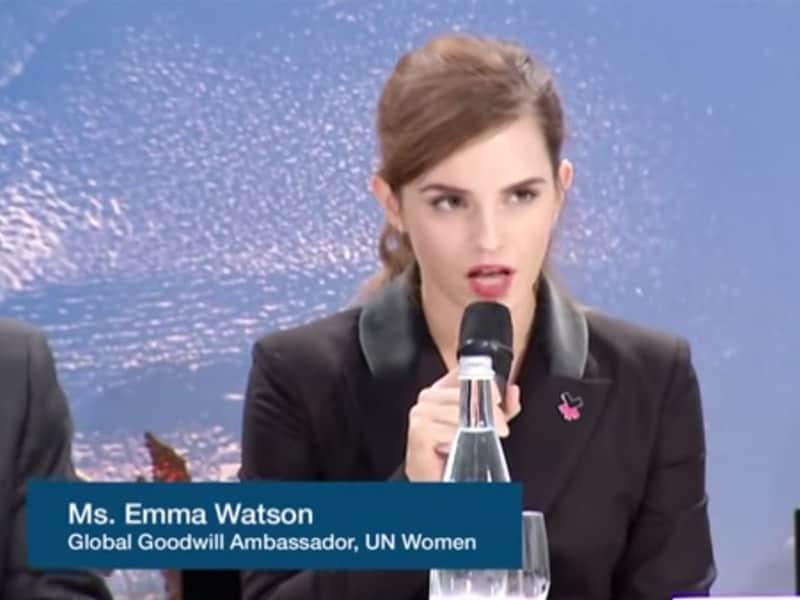 Emma Watson nos emociona novamente com novo discurso sobre igualdade de gêneros 1