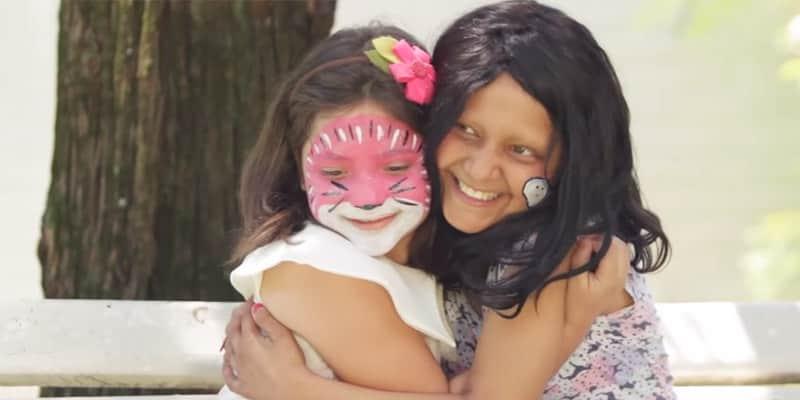 Em seu aniversário de 8 anos, Luara resolve doar seu cabelo para menina com câncer 2