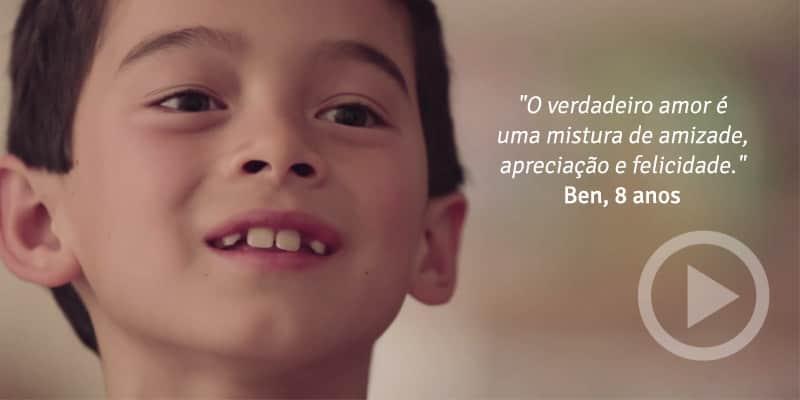 Crianças nos dão pequenas pérolas de sabedoria sobre o que elas sabem sobre o amor 1