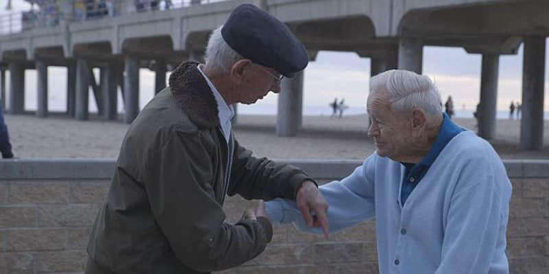 Sobrevivente do holocausto reencontra soldado que o libertou 70 anos depois 7