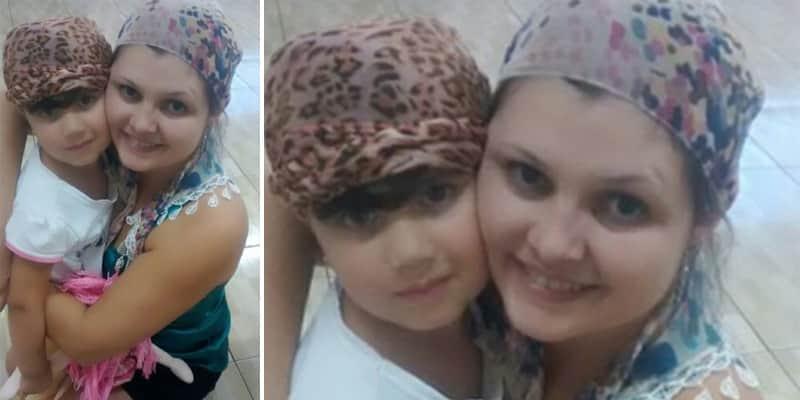 Professora começa a usar lenço para incentivar aluna com um tipo de câncer de pele 3
