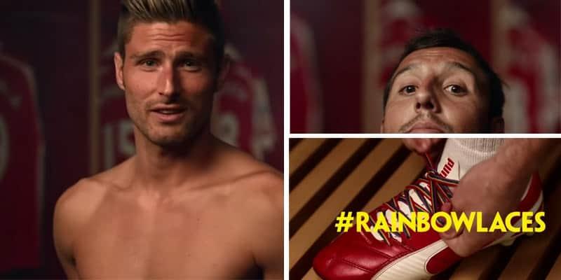 Jogadores do Arsenal fazem vídeo divertido em combate à homofobia no futebol 1