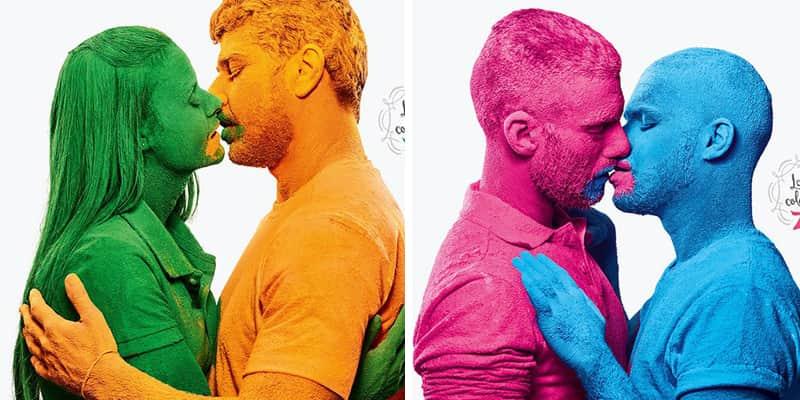 Empresa brasileira de tintas faz campanha pela conscientização sobre a diversidade do amor.