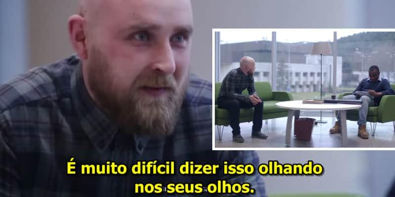 Experimento na Lituânia mostra como pessoas reagem em uma situação de racismo 3