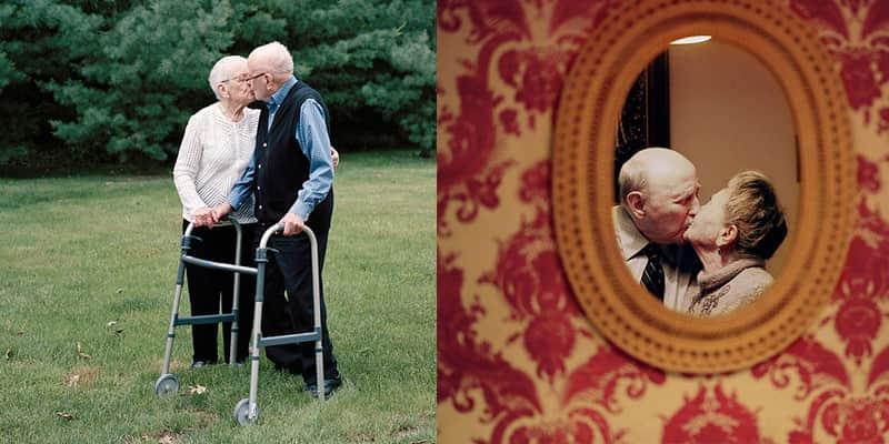 Ensaio fotográfico homenageia casais que estão juntos há mais de 50 anos.