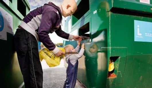 todos aprendem sobre reciclagem