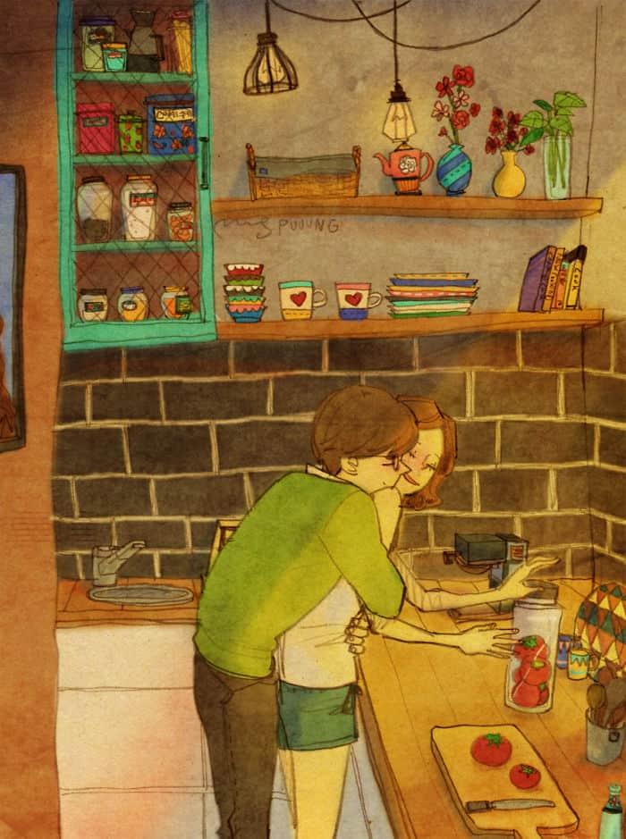 amor está nas pequenas coisas 2