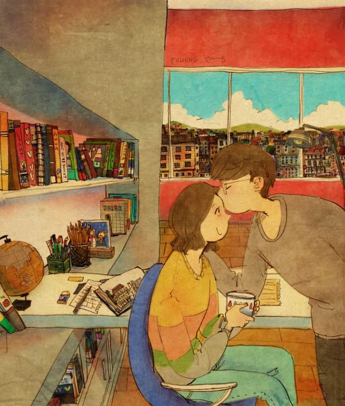 amor está nas pequenas coisas 6