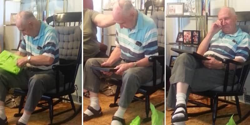 Depois de 70 anos, homem vê foto de sua mãe pela primeira vez 3
