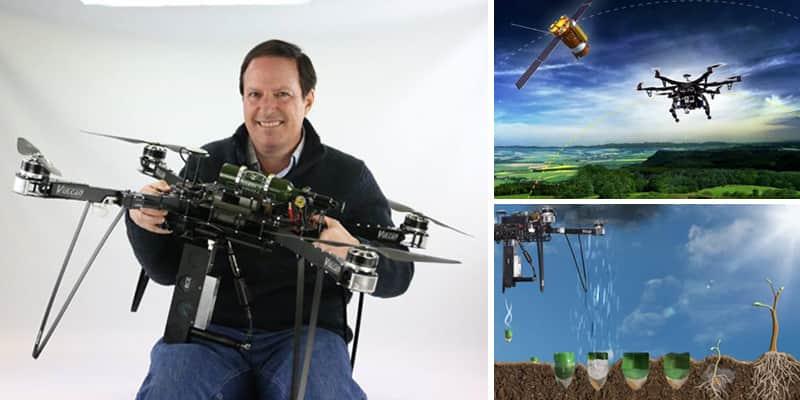 Drone inteligente e do bem: ele consegue plantar 1 bilhão de árvores em 1 ano 2