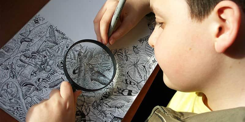 Criança prodígio de 11 anos cria desenhos incrivelmente detalhados e cheios de vida 5