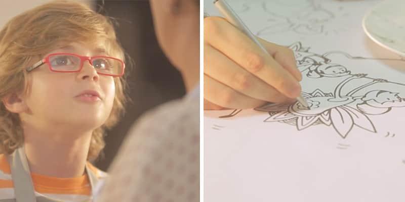 Ação transforma histórias fantásticas que filhos contam às mães em ilustrações cheias de amor 8