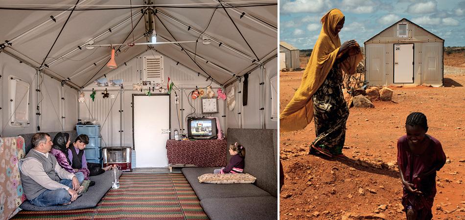 IKEA produz abrigos extraordinários para refugiados de conflitos e desastres naturais 2