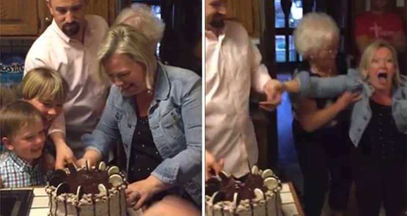 A reação maravilhosa de uma mãe de seis meninos ao descobrir que terá uma menina 1