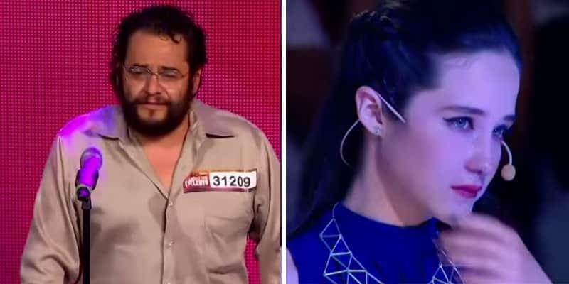 Mendigo solta a voz em programa de talentos no México e emociona a todos 3