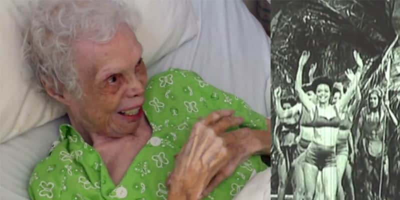 Artista de 102 anos assiste a si mesma dançando pela primeira vez na vida 2
