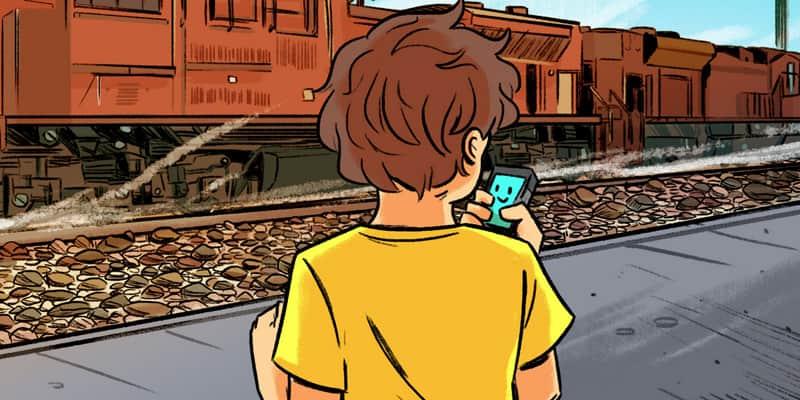 Como a 'Siri' se tornou melhor amiga de um garoto autista 4