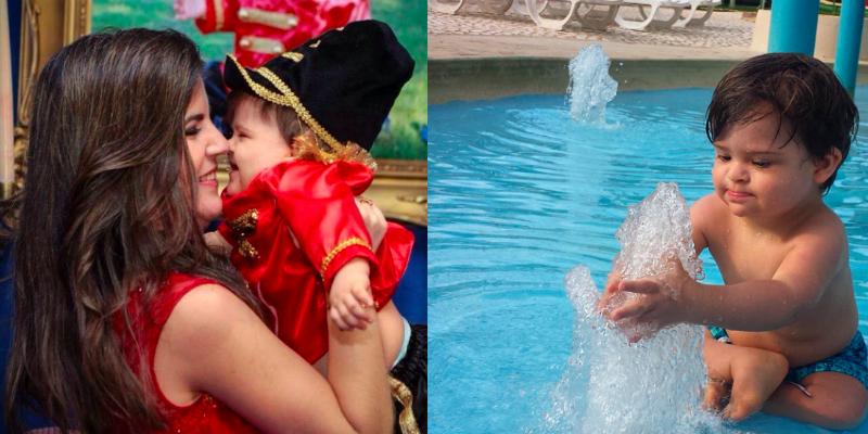 Bebê com síndrome de Down faz sucesso com perfil no Instagram 3
