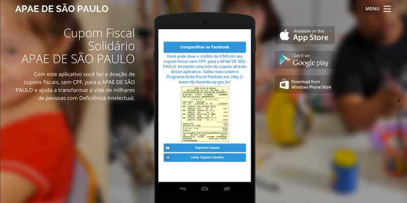 Estudante brasileiro cria app para facilitar doação de cupons fiscais (sem CPF) e ajudar ONGs 2