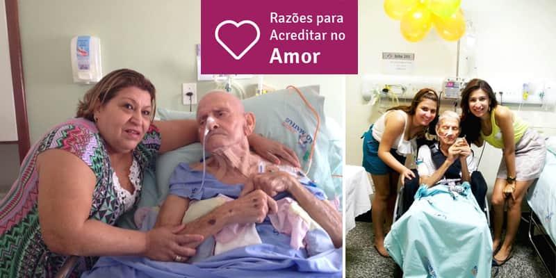Mesmo não sendo mais casados, mulher cuida de ex-marido com Alzheimer até o fim da vida 1