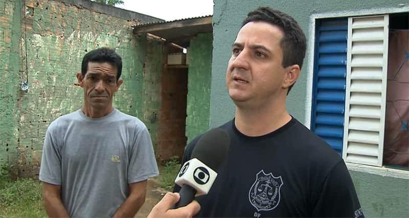 Policiais que ajudaram homem preso elogiam cuidado dele com o filho 1