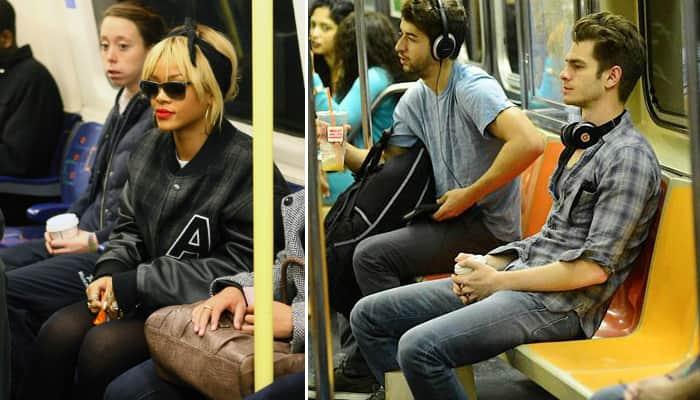 Tumblr mostra que famosos são gente como a gente e usam transporte público 3