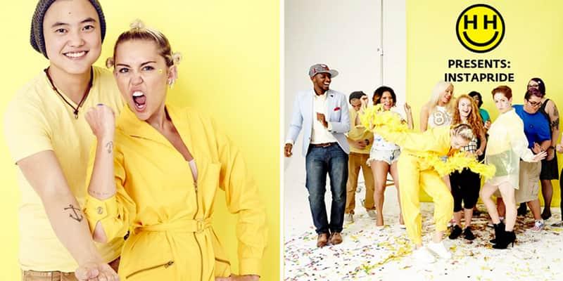 Em parceria com o Instagram, Miley Cirus faz campanha para apoiar os transgêneros 3