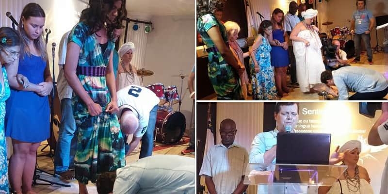 Pastor lava os pés de gay, mãe-de-santo, ateu e outros que sofrem com o preconceito dos evangélicos 1