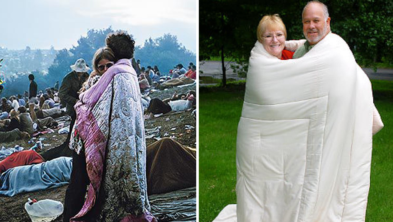 casal capa woodstock couple