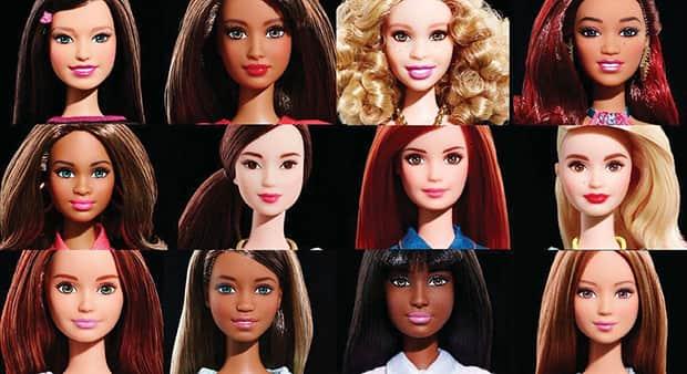 Nova Barbie ganha novos tons de pele, olhos e cabelos e não usa mais salto 3