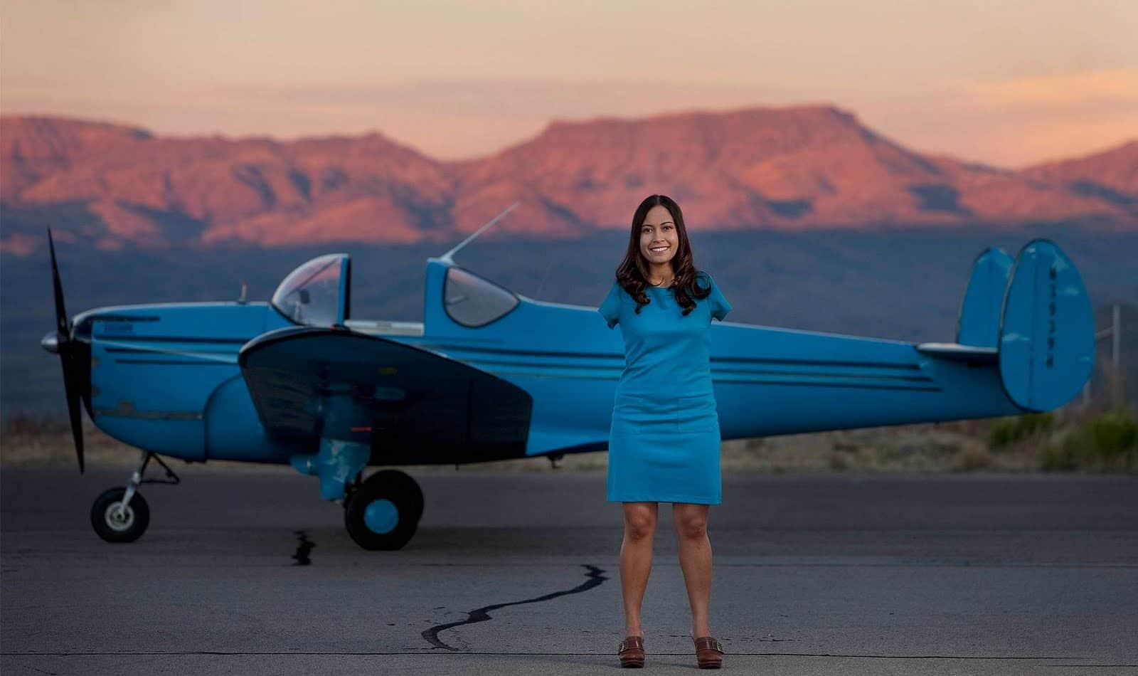 Conheça Jessica Cox, a primeira pilota sem braços 1