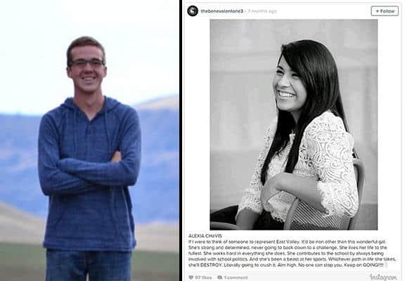 Estudante de 18 anos cria conta anônima no Instagram para valorizar seus colegas de classe 1