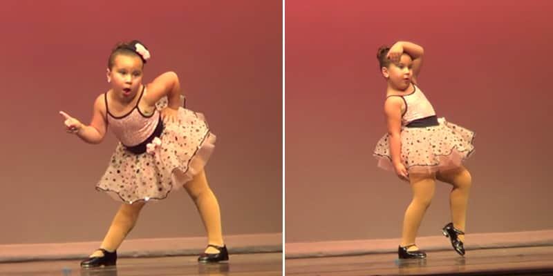 Menina arrasa na coreografia de Aretha Franklin e quebra a internet essa semana 1