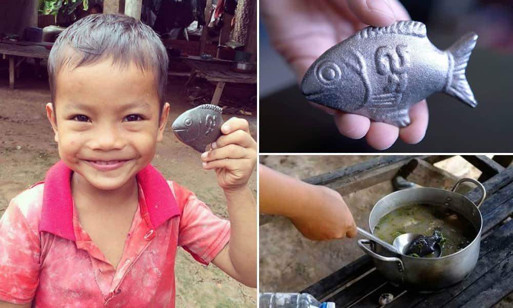 Descubra porque esse peixinho de ferro pode salvar muitas vidas 1