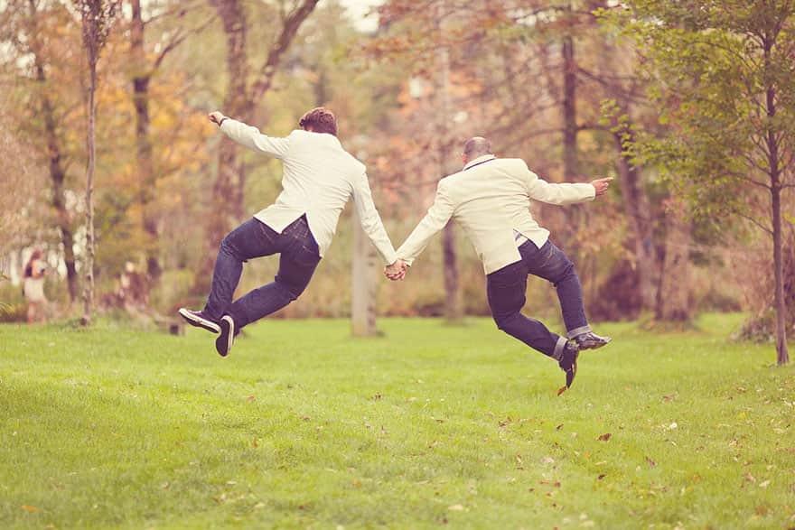 15 casamentos entre pessoas do mesmo sexo que provam que não há barreiras para o amor 1