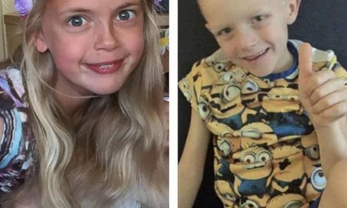 Menina de 9 anos fã da Rapunzel corta os cabelos por amigo com câncer 1