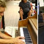 Sem-teto surpreende moradores ao tocar piano com maestria e ganha bolsa de estudos 1