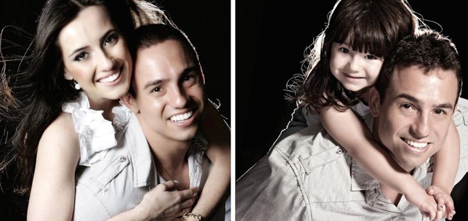 Depois que a esposa faleceu, pai e filha recriam fotos como forma de homenageá-la 5