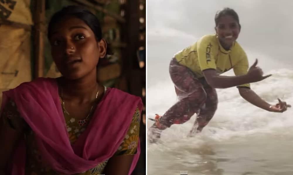 Ela foi expulsa de casa em Bangladesh por recusar a se prostituir mas se tornou um ícone do surf anos depois 2