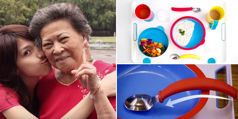 Inspirada em sua vó, designer cria louças que melhoram o ato de comer de pacientes com demência 1