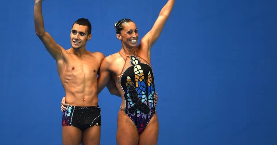 Espanhol vence preconceito no nado sincronizado e participa do Mundial 4