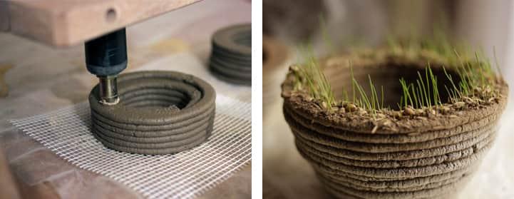 Impressora 3D de grama permite você ter o jardim no formato que quiser 1
