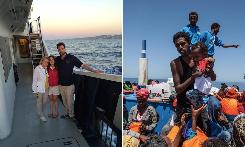 Multimilionário doa metade de sua riqueza para salvar vidas de refugiados 1