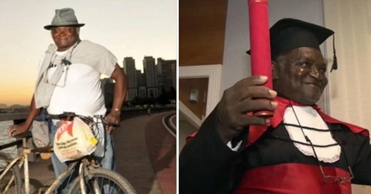 Pedreiro que pedalava 42km por dia para estudar se forma em Direito 5