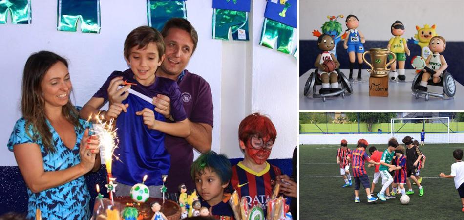 Garoto de 9 anos homenageia atletas paralímpicos em sua festa de aniversário 1