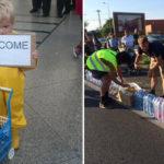 Confira momentos em que a humanidade combate a crise dos refugiados com muita solidariedade 4