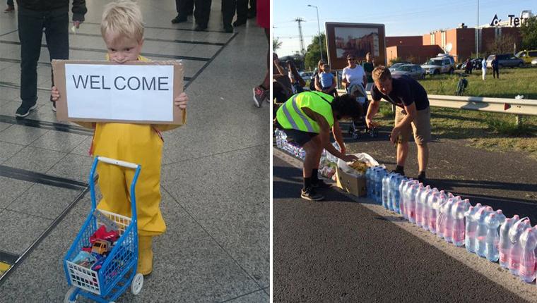Confira momentos em que a humanidade combate a crise dos refugiados com muita solidariedade 2