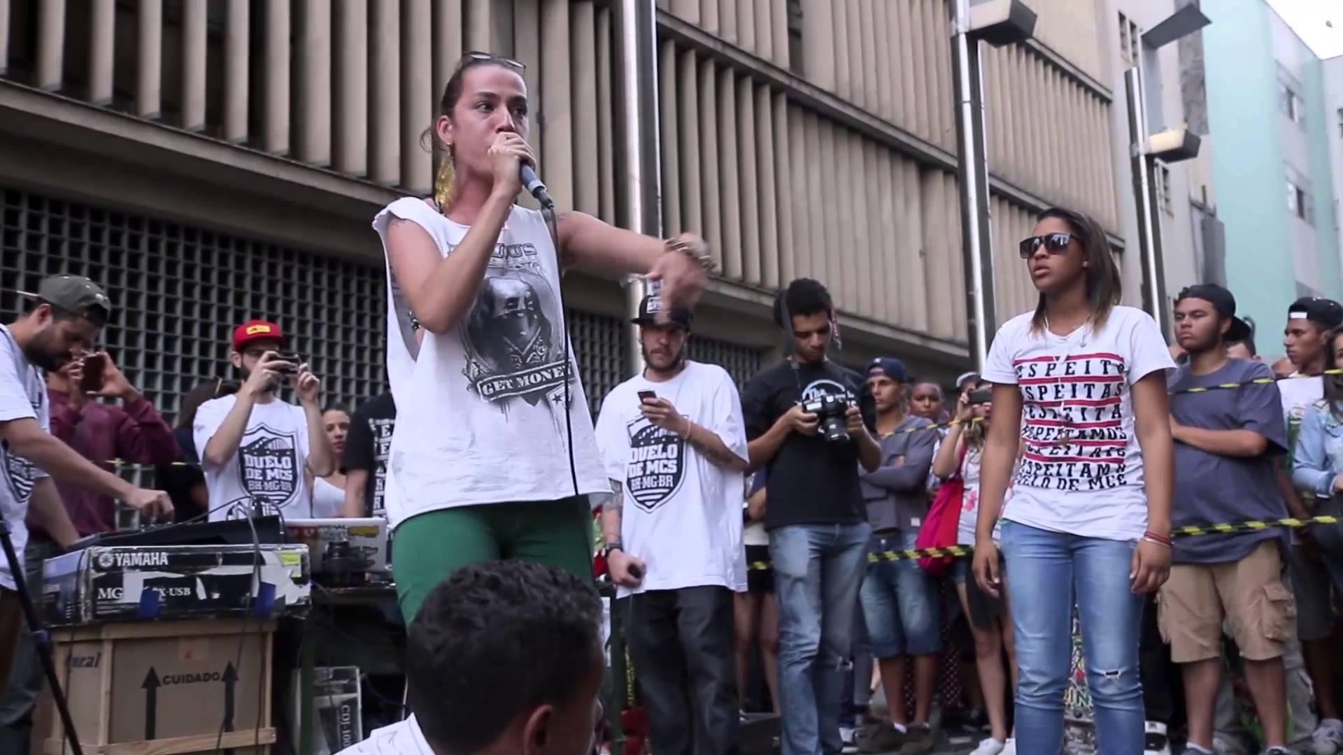 Menina adolescente arrasa e ganha o último Duelo de MCs Nacional 2